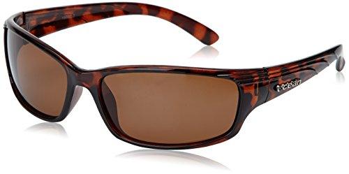 Ocean Sunglasses - Caparica - lunettes de soleil polarisées - Monture : Marron - Verres : Fumée (18030.2)