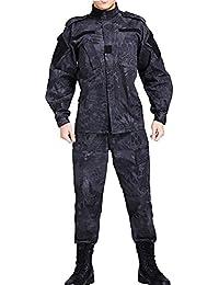 Vividda Combinaison Hommes Combinaison de camouflage uniforme Uniforme Militaire EDR chasse EDR Adaptateur Jeu Paintball Manteau et pantalon