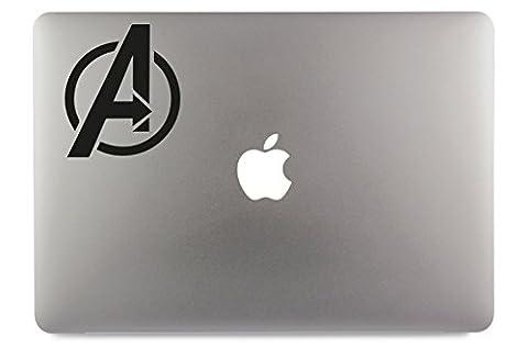 Avengers Marvel Logo Symbol Apple MacBook Air Pro Aufkleber Skin Decal Sticker Vinyl (13