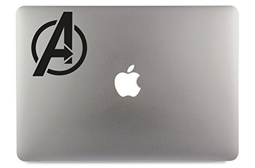 Avengers Marvel Logo Symbol Apple MacBook Air Pro Aufkleber Skin Decal Sticker Vinyl (11
