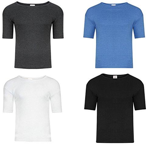 Men's Hot Thermal Underwear 0.45 TOG Short Sleeve Vest Winter & Ski Wear Free Post Size S-XXL