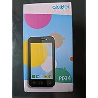 "Alcatel Pixi 4 4GB 4"" SIM-Free Smartphone in Black"
