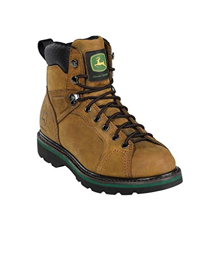 john-deere-mens-lace-to-toe-dark-brown-crazy-horse-leather-work-boots-jd6124-jd6124w10-uk-9w