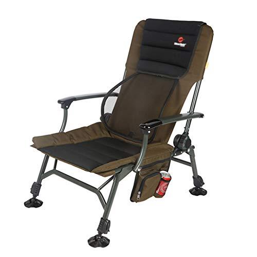 Chaises de pêche Chaise De Camping Chaise De Pique-Nique Chaise Pliante Multifonctionnelle Siège D'extérieur Peut Supporter 150 Kg Cadeau (Color : Green, Size : 52 * 54 * 60cm)