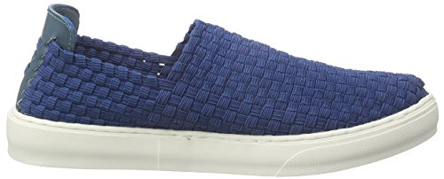 ... Blink Bmecl Damen Sneakers Blau (675 Denim blue)