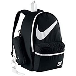 Nike Young Athletes Halfday BT - Mochila unisex, color negro / blanco, talla única