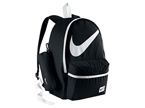 Nike Young Athletes Halfday BT - Mochila unisex, color negro/blanco, talla única