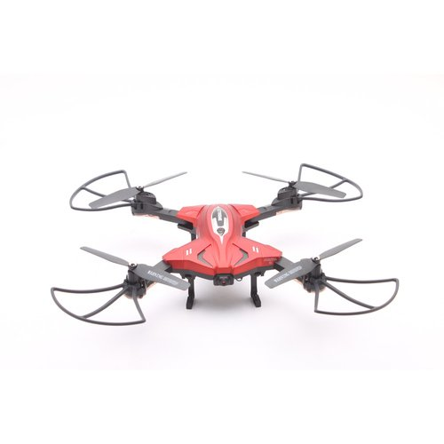 Zimo® RC Drone 2017 New TK110HW 2.4G Quadcopter Wifi FPV 0.3MP 720P HD Camera Hélicoptères Quadcopters Pliable 4 Axe RC Mini Drone (Rouge)