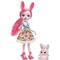 Enchantimals Mattel DVH88 Hasenmädchen Bree Bunny, Puppe