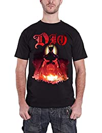 Dio T Shirt The Last In Line Holy Diver Demon Band Logo Official Mens Black
