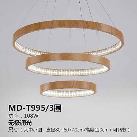 qwer Bassa di lusso LED minimalista lampadari