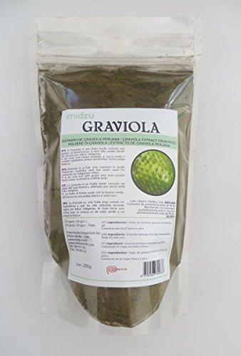Foglie polvere di guanabana naturale senza additivi prive di pesticidi grazie alla raccolta mano da utilizzare come aggiunta al bagno confezione da