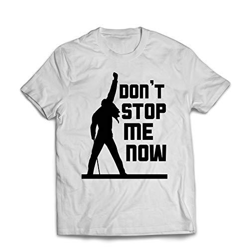 Youth Graphic T-shirt (lepni.me Männer T-Shirt Don't Stop me Now! Fan Shirts, Musiker Geschenke, Rock Kleidung (XXX-Large Weiß Mehrfarben))