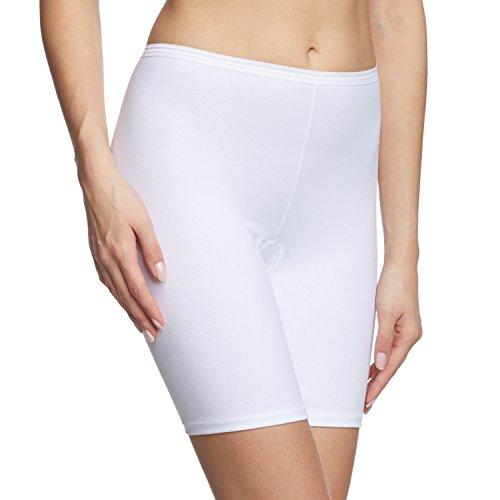 Comfort Hipster Panty (Calida Damen Hose Comfort Panties, Weiss 001, 48 (Herstellergröße: XL))
