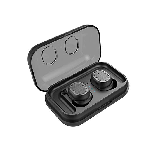 XuBa Bluetooth 5.0 Kopfhörer Induktion Drahtlose IPX5, Sport Ohrhörer Mini Stereo HiFi mit Aufladeeinheits Kasten