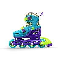 INLINE SKATE ADJ GW-083 FOR KIDS PURPLE BLUE