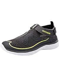 Zapatos de Playa de los Hombres de Verano Zapatos de río al Aire Libre Zapatos de vadeo Informal Zapatos Deportivos