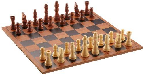 Philos 2709 - Schach-Set, Feld 27 mm, Königshöhe 50 mm (Board Set Chess)