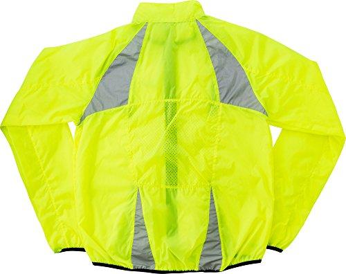 Regenjacke Joggingjacke Gelb Unisex Trainingsjacke bis XL für Damen & Herren Outdoorjacke nur 152 Gramm