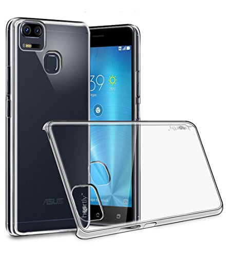 Heartly Crystal Clear Hot Transparent Ultra Thin Hard Bumper Back...