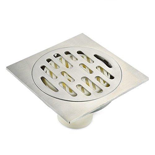 KHSKX-In Acciaio Inox Lavatrice Dedicato Quattro Anti-Bagno Deodoranti Anti-Ciecamente L'Acqua di Ritorno di Fognature di Dispersione A Terra Di-10 * 10Cm