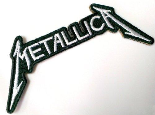La band musica metallica logo toppa termoadesiva