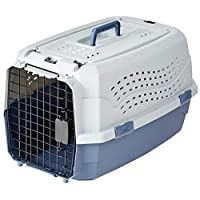 AmazonBasics 23-Inch Two Door Top Load Pet Kennel