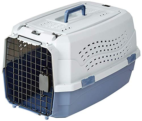 AmazonBasics Two Door Top Load Pet Kennel (23-inch)