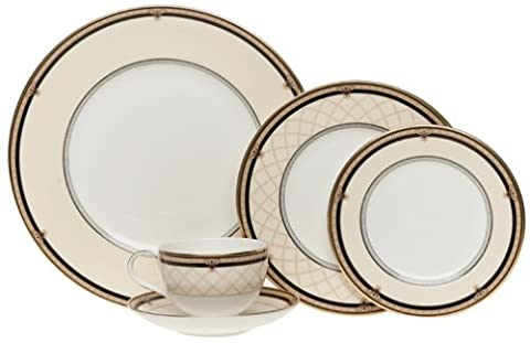Royal Doulton Baroness 5-Piece Dinnerware Place Setting, Service for 1 by Royal Doulton