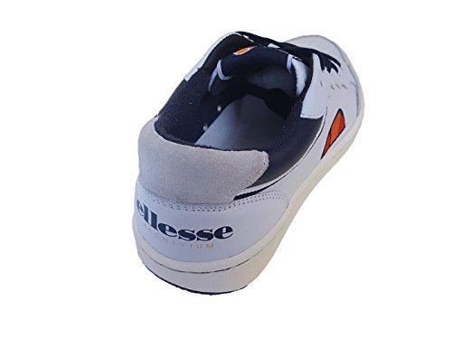Ellesse 8SMASTER04/LEA Sneaker Uomo in Pelle MainApps Bianco/Blu