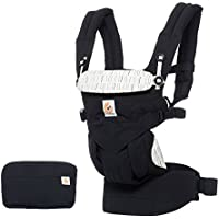 Ergobaby Baby Carrier for Newborn to Toddler, 4 Position Omni 360 Downtown, Front Back Baby Carrier Front Facing, Child Backpack Carrier