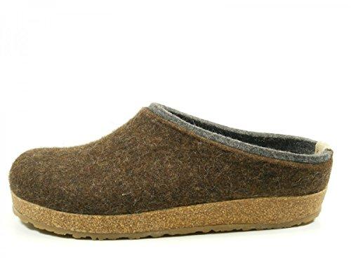 Pantofole HAFLINGER GRIZZLY KRIS art. 71105642 in lana cotta (36-41) Braun