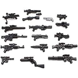 BrickArms Star WarsTM Blaster Lot D'Armes Custom Armes pour Figurines Lego®