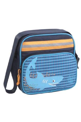 Lässig Kindergartentasche Mini Square Bag, Shark ocean