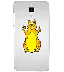 XIAOMI MI4 DUAL CAT Back Cover by PRINTSWAG