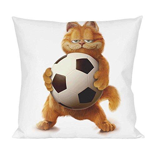 Garfield Wanna Play Football Pillow -