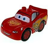 1 x Lego Duplo Auto Disney Cars rot Lightning Mc Queen Rust-Eze 88765pb01