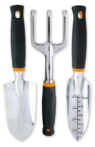 Fiskars Softouch® 3-teiliges Garten Werkzeug Set (7067)