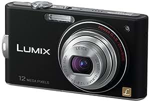 Panasonic LUMIX DMC-FX60 Digitalkamera EG-K (12 Megapixel, 5-fach opt. Zoom, 6,9 cm (2,7 Zoll) Display, Bildstabilisator) mattschwarz