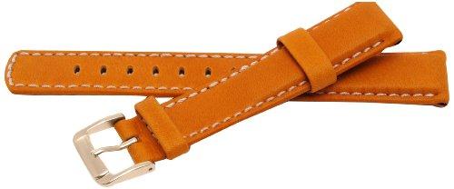 Bernex Mariner, 100 m L -WR Unisex Leder braun Verschluss Pin GB42391 1,8 cm