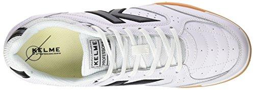 Kelme Herren Precision One Sneakers Elfenbein (bianco / Nero)