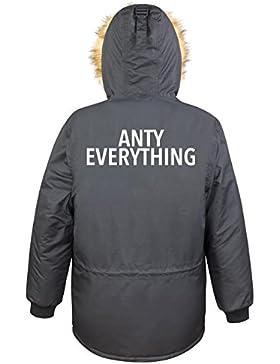 Anty Everything Parka Girls Nero Certified Freak