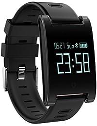 Reloj Inteligente Xinan DM68 Plus Fitness Tracker Presión arterial Monitor de frecuencia cardíaca Llamadas Mensajes Mira