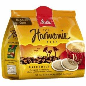 Melitta Kaffeepads Harmonie Cafe VE=16 Stück