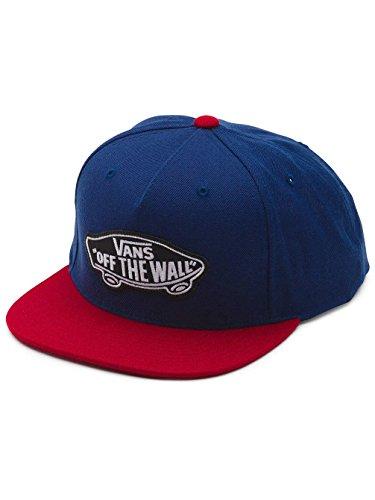 Vans - Classic Patch Snapback, Berretto da baseball Uomo, Blu (Dress Blues/Rhubarb), Taglia unica (Taglia Produttore: One Size)