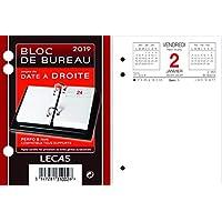 lecas - 400056043 - 1 Recharge pour bloc éphéméride date a droite 2019 - 85 x 115 mm