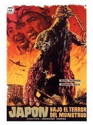 Godzilla Japanischer Monster Movie Poster Ca. 40 X 30cm (15.5 X 11.5) - Godzilla Poster-japanisch