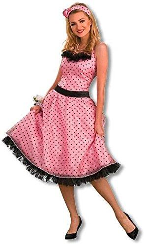 Polka Dot Kostüm Abschlussball - Polka Dot Abschlussball Kostüm L