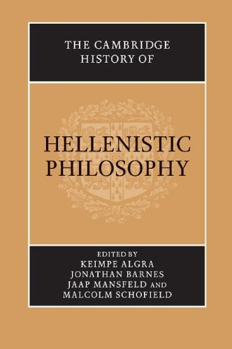 The Cambridge History of Hellenistic Philosophy Paperback por Algra