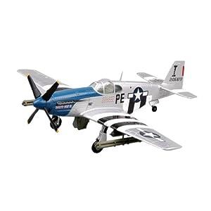 Easy Model 36355 P-51B Patty Ann II (42-106872) - Avioneta a escala con soporte Importado de Alemania